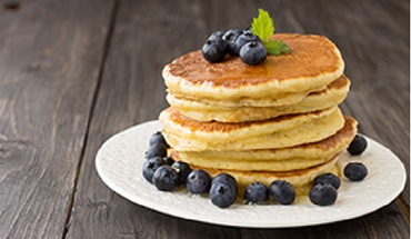 Perfect American Pancakes and Five Topping Ideas with a Twist