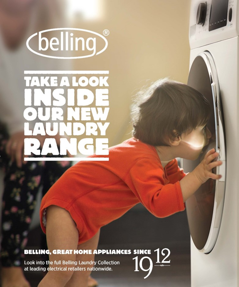 Sensicare Collection – The new laundry range from Belling