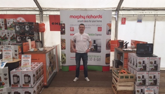Morphy Richards at the Tullamore Show